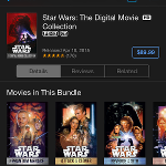 Star Wars: The Digital Movie Collection Comes to iTunes