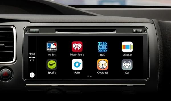 wide CarPlay screen