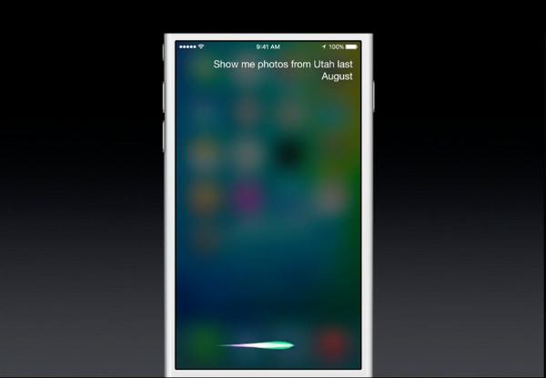 Use Siri to display photos