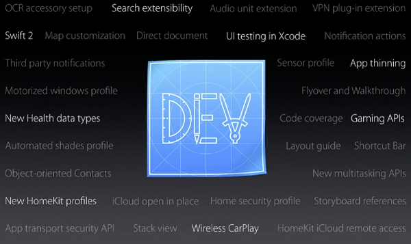 iOS 9 developer APIs and SDKs