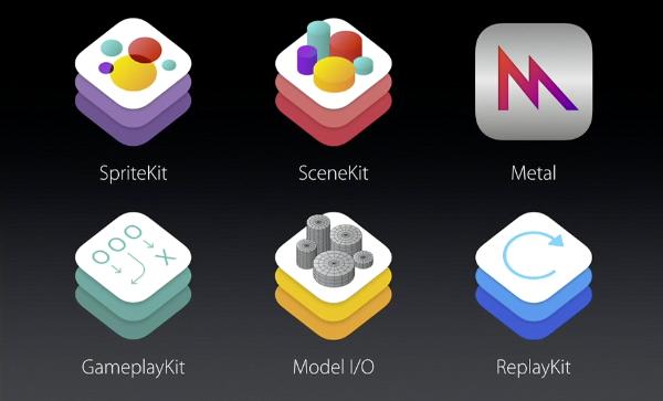 iOS 9 gaming APIs and SDKs