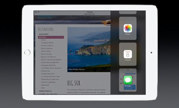 iOS 9 iPad pick new multitasking app