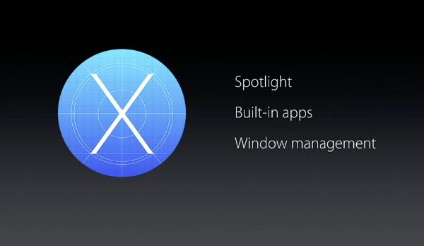 OS X 10.11 El Capitan user experience improvements