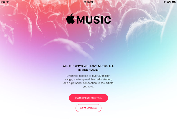 Apple Music or My Music