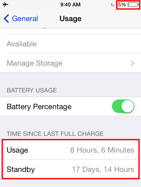 Amazing Battery Life On 4 Year Old Iphone
