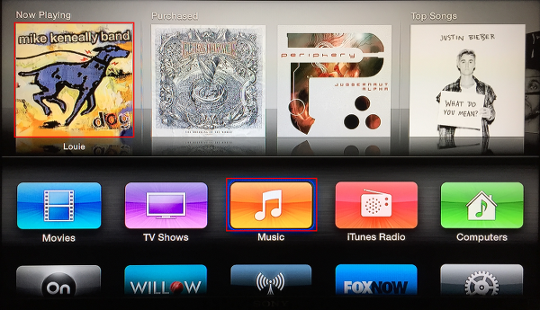 View Now Playing on Apple TV