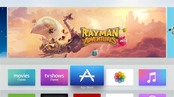 App Store for Apple TV 4