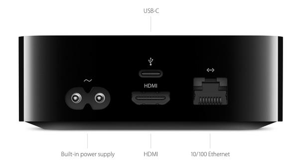 No Optical Audio Port on Apple TV 4
