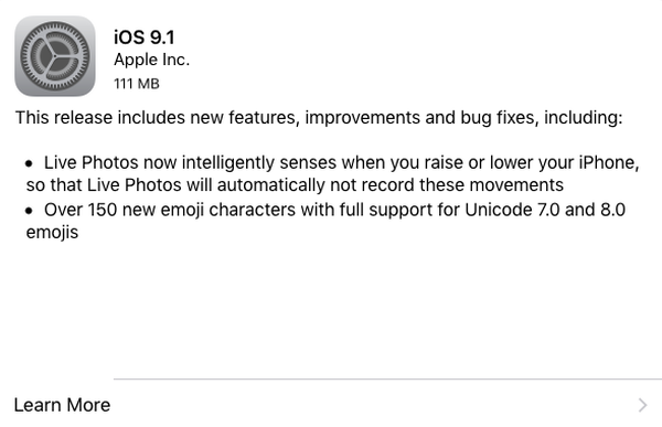 iOS 9 1: Worth Upgrading? | page 1 |