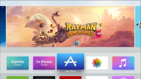Apple TV 4 App Store