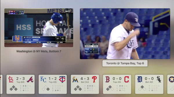 Apple TV 4 Sports