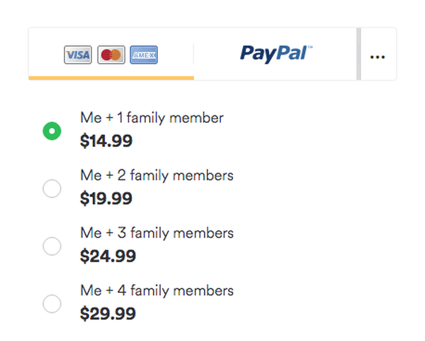 Spotify Family Plan Pricing