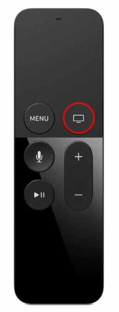 Apple TV 4 Siri Remote Home Button