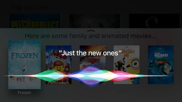 Siri Commands for Apple TV 4