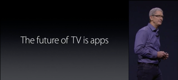 Apple TV 4 Using the App Store