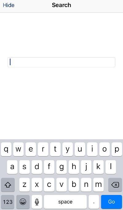 Remote App Keyboard