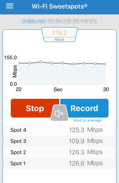 WiFi Sweetspots iOS App