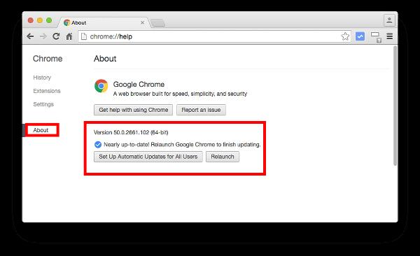 Update Chrome to Update Adobe Flash