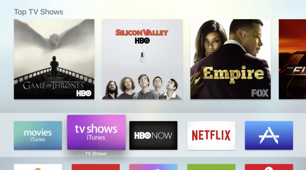 Apple TV 4: Using the Home Screen Marquee |
