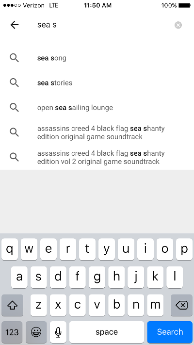 Search for Song