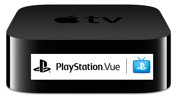 PlayStation Vue for Apple TV