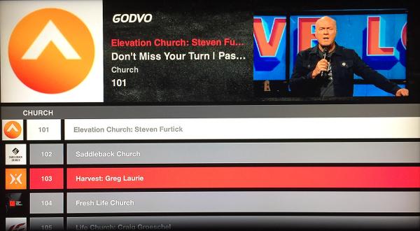 Godvo Apple TV App