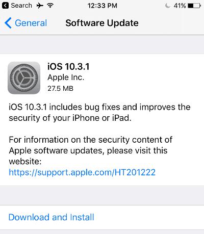 Fix Stuck iPhone Software Update
