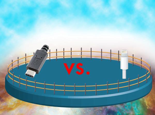 USB-C vs. Lightning