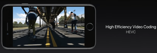 HVEC for iOS 11