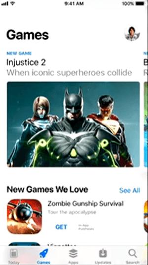 iOS 11 AppStore Games