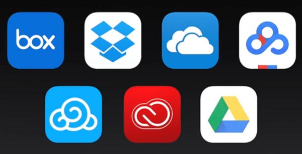 iOS 11 Files App Cloud Service Compatibility