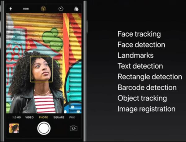 iOS 11 Machine Learning Vision API
