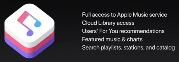 iOS 11 MusicKit
