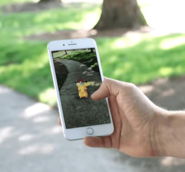 Pokemon Go AR Example