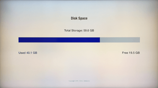 Check How Much Storage Space Is Left on Apple TV | page 1