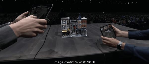 iOS 12 AR Lego Demo