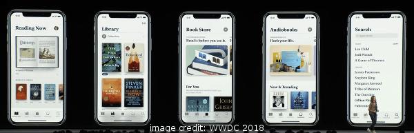iOS 12 Apple Books