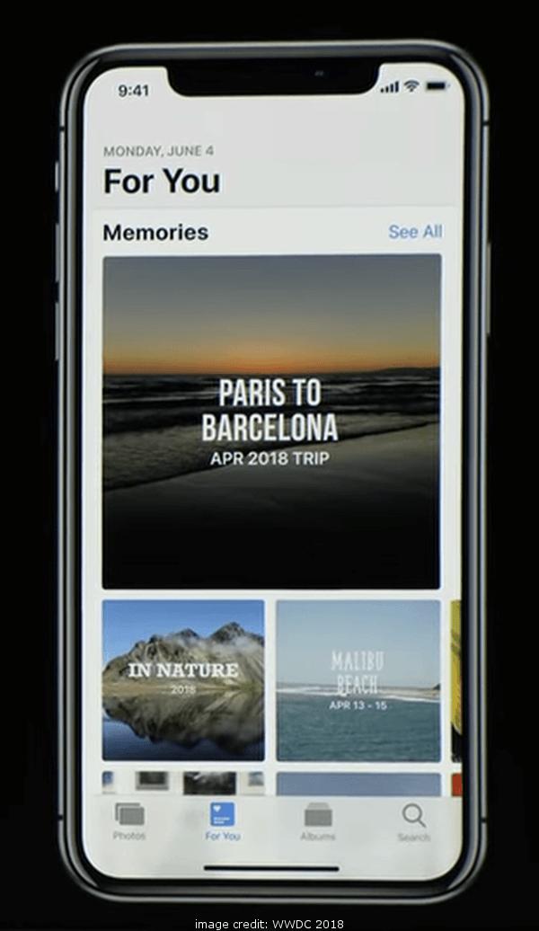 iOS 12 Photos For You