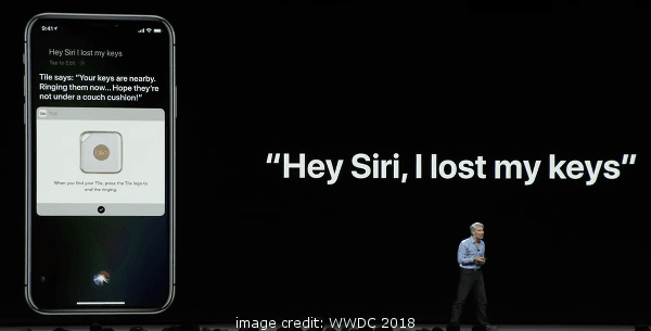 iOS 12 Siri Shortcuts Tiles App