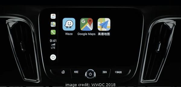 iOS 12 CarPlay with Google Maps