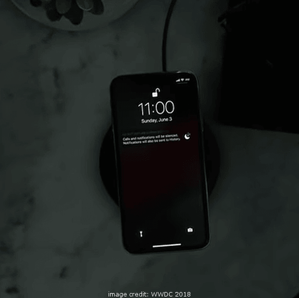 iOS 12 Do Not Disturb During Bedtime