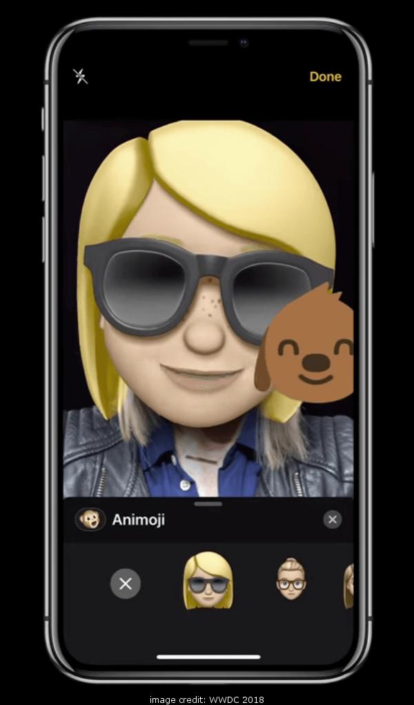 iOS 12 Memoji with AR