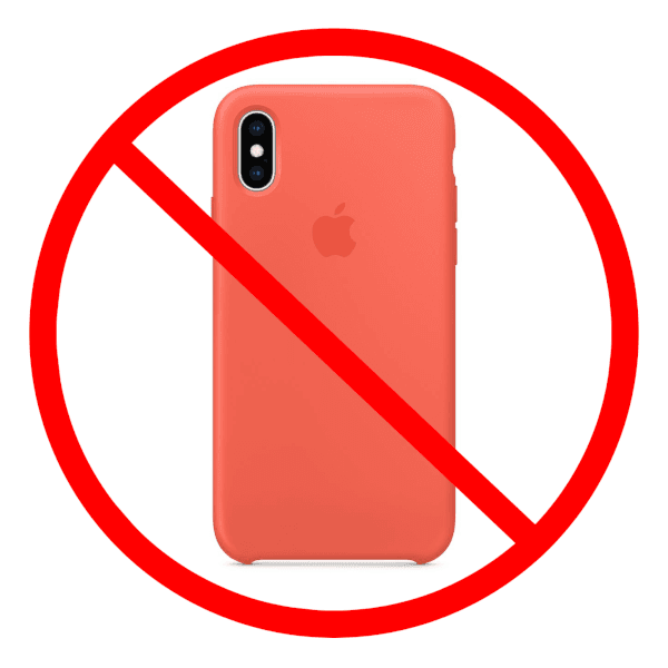 Do Not Use iPhone Case
