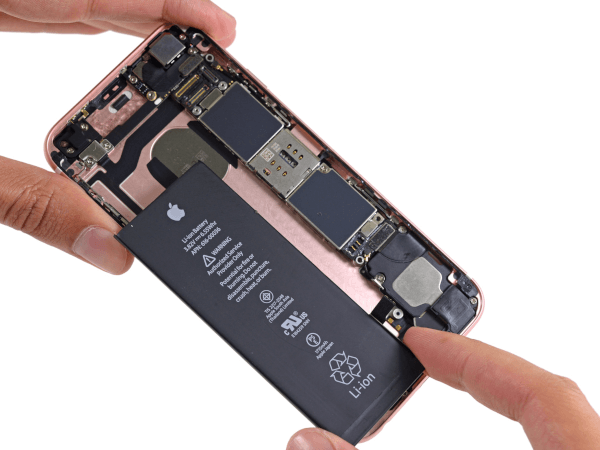 iPhone 6S Removing Battery