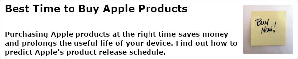 Purchasing Apple products at the right time saves money and prolongs the useful life of your device. Find out how to predict Apple's product release schedule.