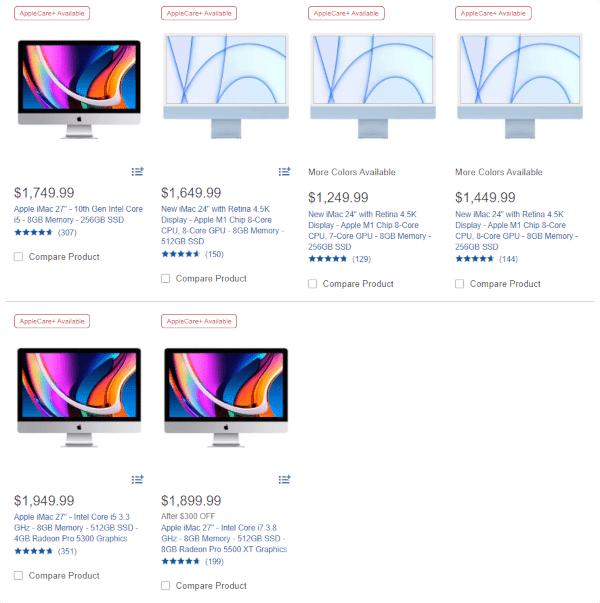 iMac at Costco