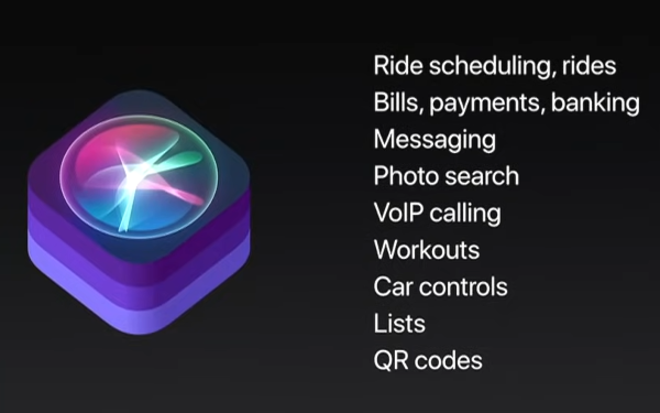 iOS 11 SiriKit