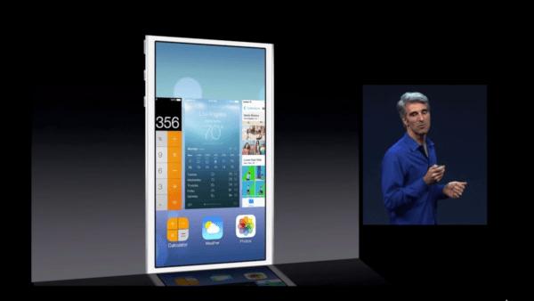 iOS 7 App Switcher