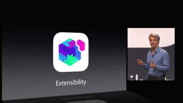 iOS 8 Extensibility