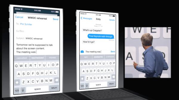 iOS 8 Predictive Text Keyboard